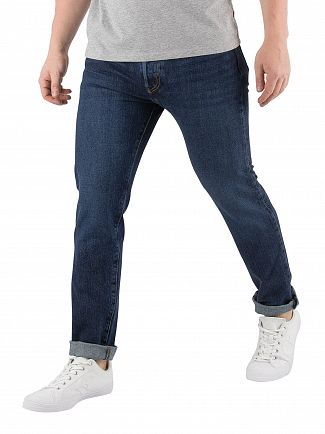 Levi's Blue Warp 501 Skinny Luther Jeans