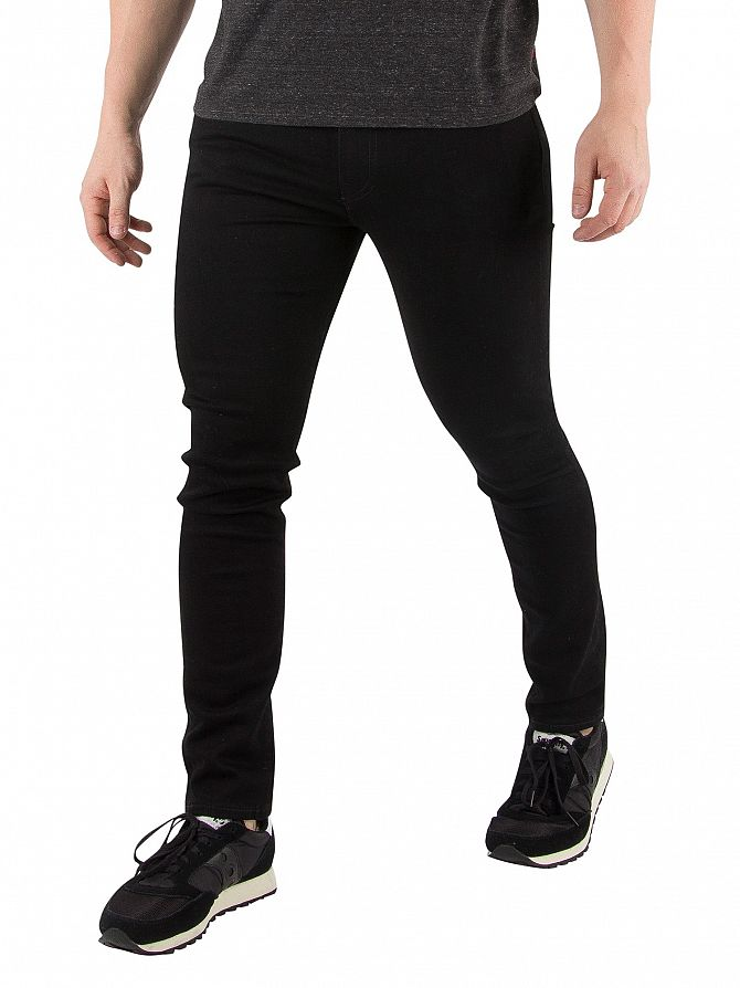Levi's Black 519 Extreme Skinny Fit Jeans