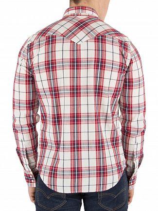 Levi's Crimson Barstow Western Shirt