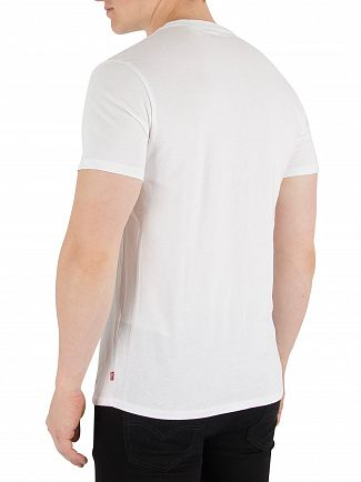 Levi's White Housemark Graphic T-Shirt
