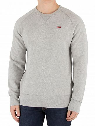 Levi's Grey Heather Original Icon Sweatshirt