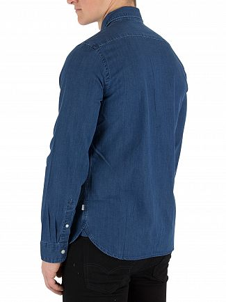Levi's Flat Coated Ink Pacific Shirt