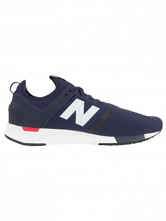 New Balance Pigment/Cerise 247 Decon Trainers