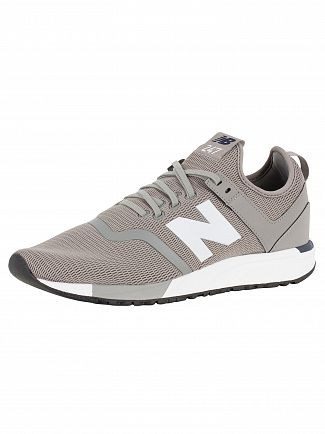 New Balance Steel/Pigment 247 Decon Trainers