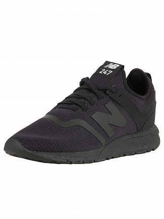 New Balance Black 247 Decon Trainers