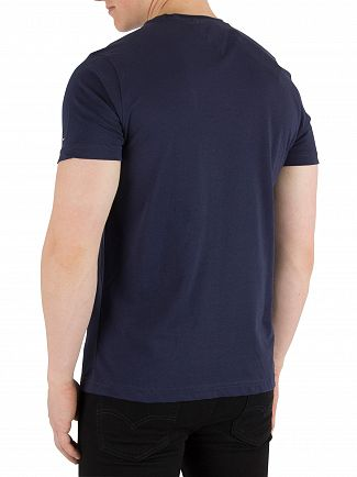 Tommy Hilfiger Maritime Blue Gradient Graphic T-Shirt
