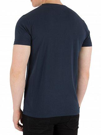Tommy Hilfiger Navy Blazer Logo Band Graphic T-Shirt