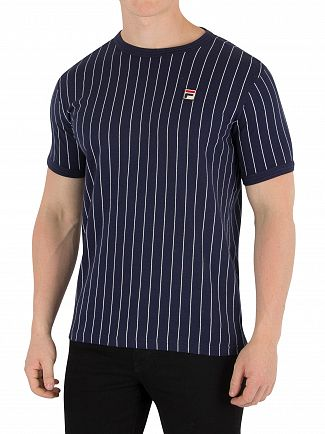 Fila Vintage Peacoat/White Guilo T-Shirt