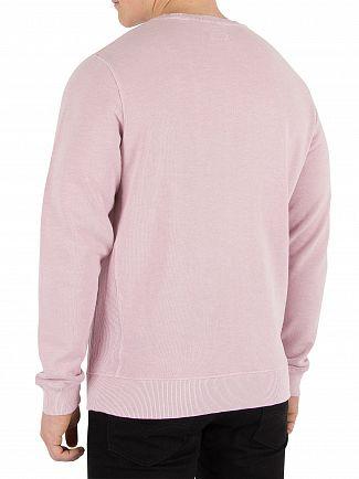 Hackett London Washed Pink Mr Classic Sweatshirt