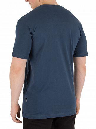 Nicce London Majorca Blue Chest Logo T-Shirt