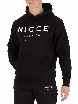 Nicce London Black Pullover Hoodie