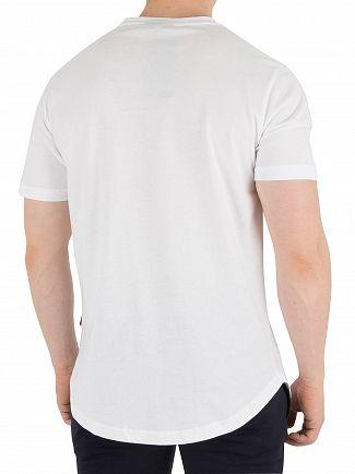 Nicce London White Split Logo T-Shirt