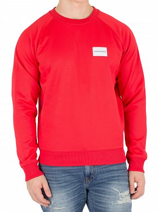 Calvin Klein Jeans Tomato Chest Badge Sweatshirt