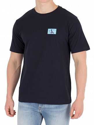 Calvin Klein Jeans Night Sky Monogram Chest Badge T-Shirt