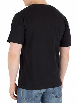Calvin Klein Jeans Black Monogram Chest Badge T-Shirt