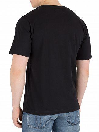 Calvin Klein Jeans Black Monogram Chest Badge T-Shirt