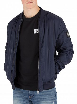 Calvin Klein Jeans Night Sky Quilted Bomber Jacket