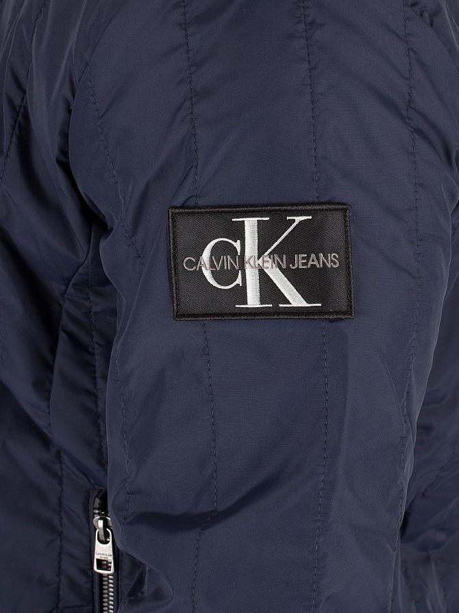 Bleu Klein Ffxpuwzpq Aviateur Calvin Ebay Jeans Homme Blouson Matelassé uF1c5TlK3J