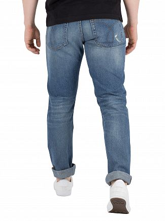 Calvin Klein Jeans Luella Blue Slim West Jeans