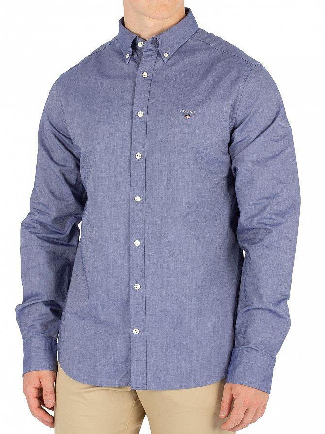 Gant Persian Blue The Slim Oxford Shirt