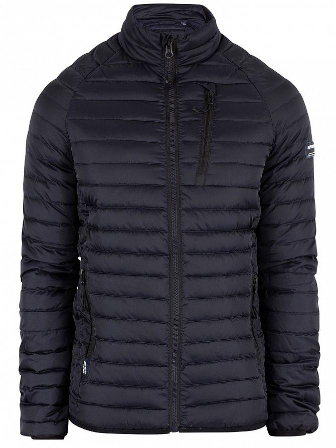 974f700d2fe8 Superdry Men s Core Down Jacket, Blue   eBay