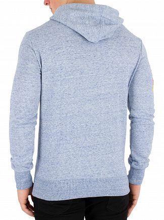 Superdry Gravel Grit Blue Vintage Cali Horizon Pullover Hoodie