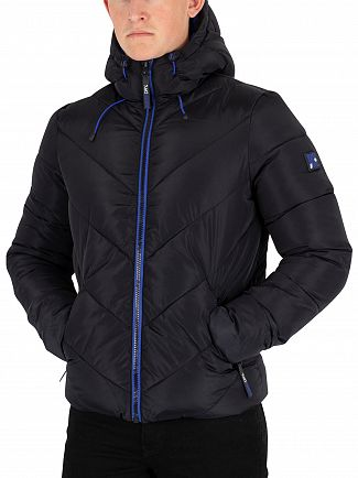 Superdry Black Xenon Padded Jacket