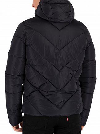 Superdry Black Xenon Padded Jacket
