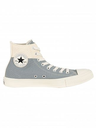 Converse Jute/Cool Grey/Black CT Allstar Americana Block Hi Trainers