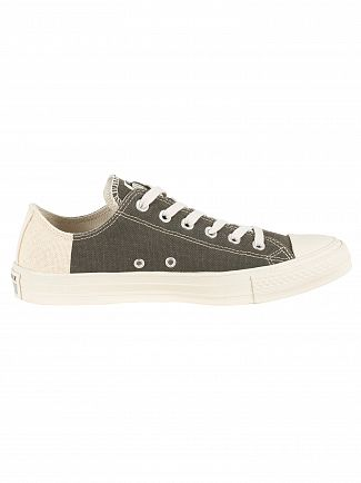 Converse Jute/Black/Cool Grey CT Allstar Americana Block Ox Trainers