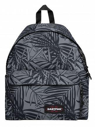 Eastpak Leaves Black Padded Pak'R Backpack