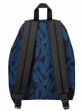 Eastpak Leaves Blue Padded Pak'R Backpack