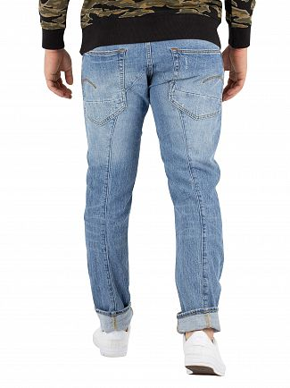 G-Star Aged Heavy Stone Lanc 3D Straight Tapered Jeans