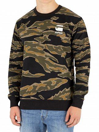 G-Star Sage/Black Tertil Stalt Sweatshirt