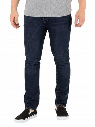 Levi's Dark Hours 501 Skinny Jeans
