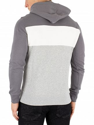 Levi's Grey Colorblock Pullover Hoodie