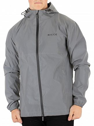 Nicce London Reflective Titan Kagoule Jacket