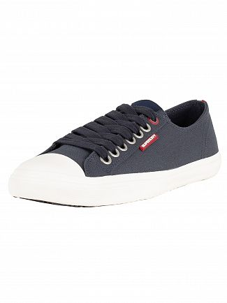 Superdry Dark Navy Low Pro Sleek Trainers