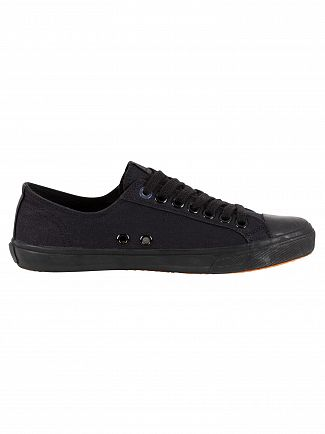 Superdry Black Low Pro Sleek Trainers
