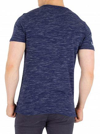 Superdry Navy Smoke Premium Goods Duo T-Shirt