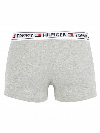 Tommy Hilfiger Grey Heather Authentic Logo Trunks
