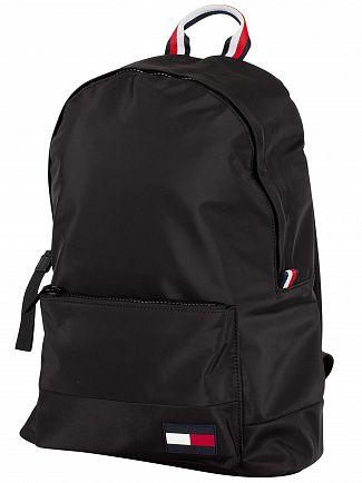 tommy-hilfiger-black-backpack
