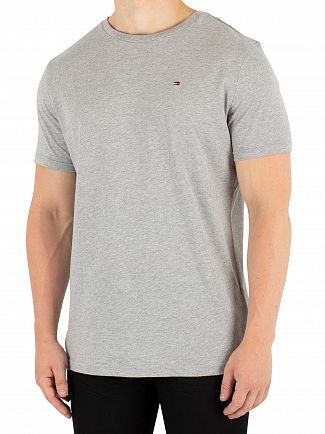 Tommy Hilfiger Grey Heather Icon T-Shirt