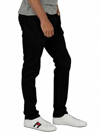 Tommy Jeans Black Comfort Slim Scanton Jeans