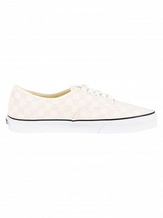 Vans Chalk Pink Authentic Checkerboard Trainers
