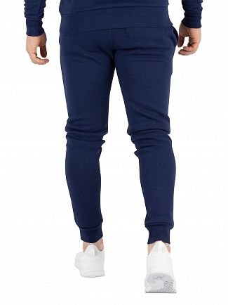 11 Degrees Navy Core Logo Joggers