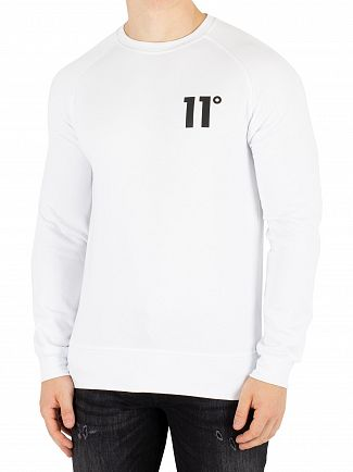 11 Degrees White Core Sweatshirt