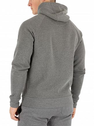 11 Degrees Charcoal Core Zip Hoodie