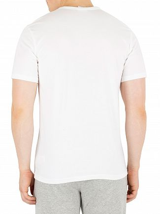 Calvin Klein White Branded Pyjama Top