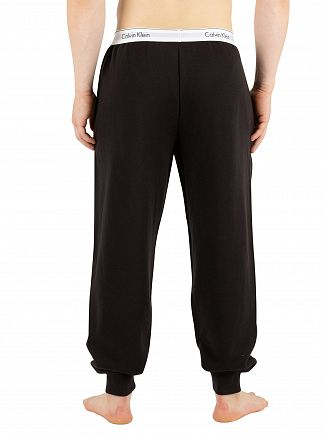 Calvin Klein Black Branded Waistband Pyjama Bottoms
